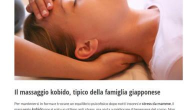 Il massaggio Kobido per le mamme
