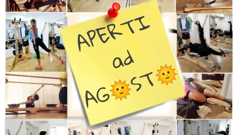 MDL Studio resterà aperto anche tutto il mese di agosto!