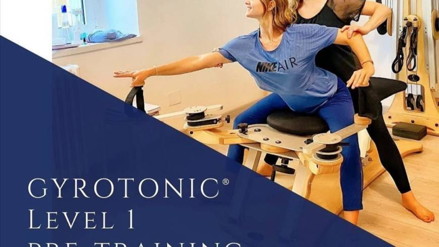 🔺 GYROTONIC®️ PRE TRAINING COURSE 🔺